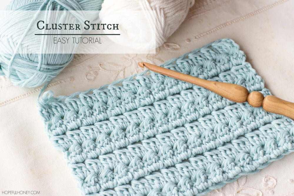 New How to Crochet the Cluster Stitch Crochet Stitches with Pictures Of Marvelous 46 Photos Crochet Stitches with Pictures