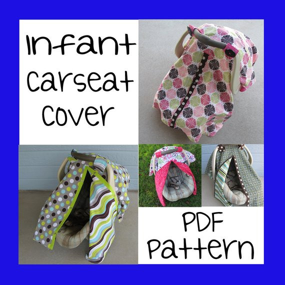 New Infant Car Seat Cover Pdf Pattern Sew Your Own Seat Cover Pattern Of Superb 46 Photos Seat Cover Pattern