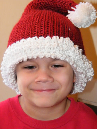 New Infant Santa Hats – Tag Hats Santa Hat Pattern Of Unique Musings Of A Knit A Holic From Wales Knitting Pattern Santa Hat Pattern