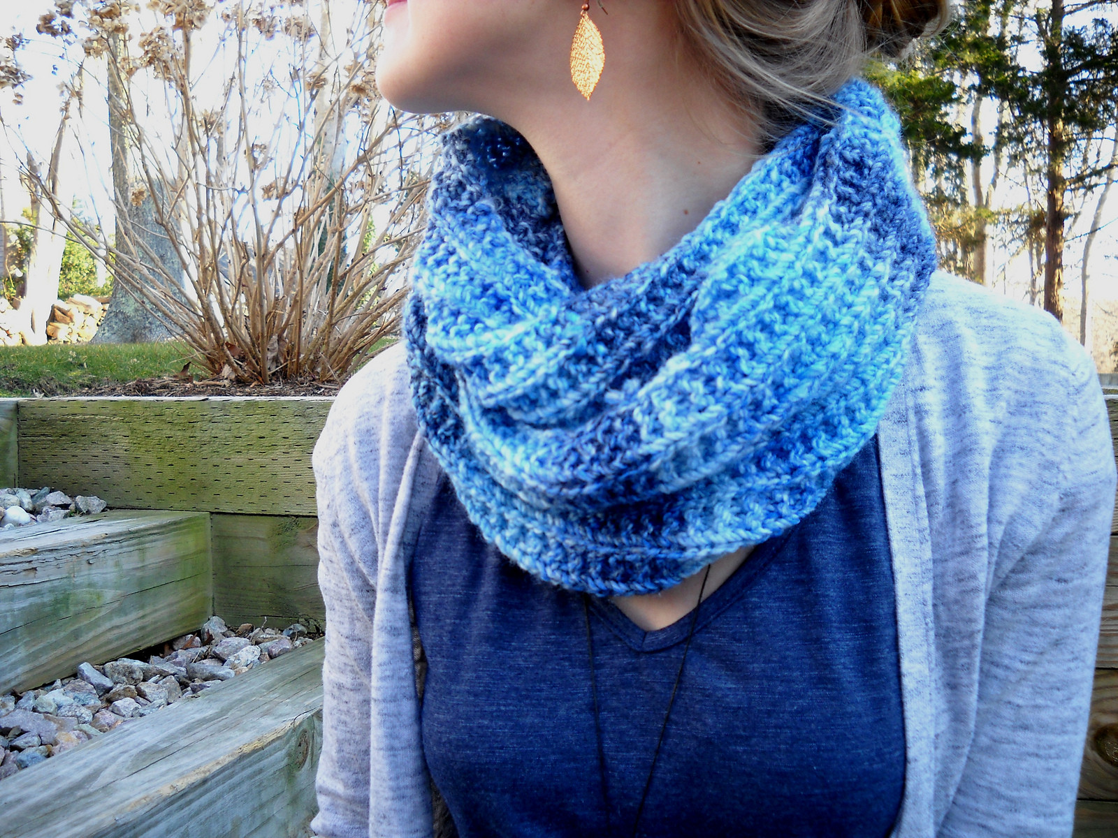 New Infinity Scarf Knitted top Knitting Pattern Scarf Knit Circle Scarf Of Brilliant 47 Photos Knit Circle Scarf
