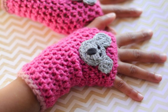 New Items Similar to Crochet Fingerless Gloves Girls Gloves Crochet toddler Mittens Of Awesome 41 Pictures Crochet toddler Mittens