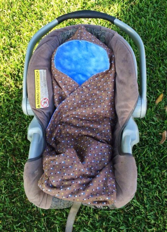 New Items Similar to Custom Car Seat Swaddle Blankets 2 Car Seat Blanket Size Of New 48 Photos Car Seat Blanket Size