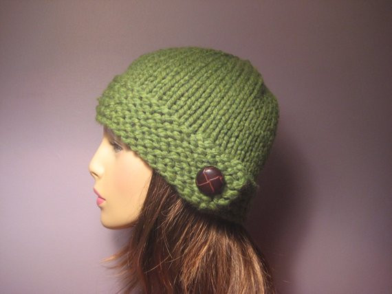 New Items Similar to Pattern button Brim Knit Hat Pdf On Etsy Knit Hat with Brim Of Contemporary 48 Pictures Knit Hat with Brim