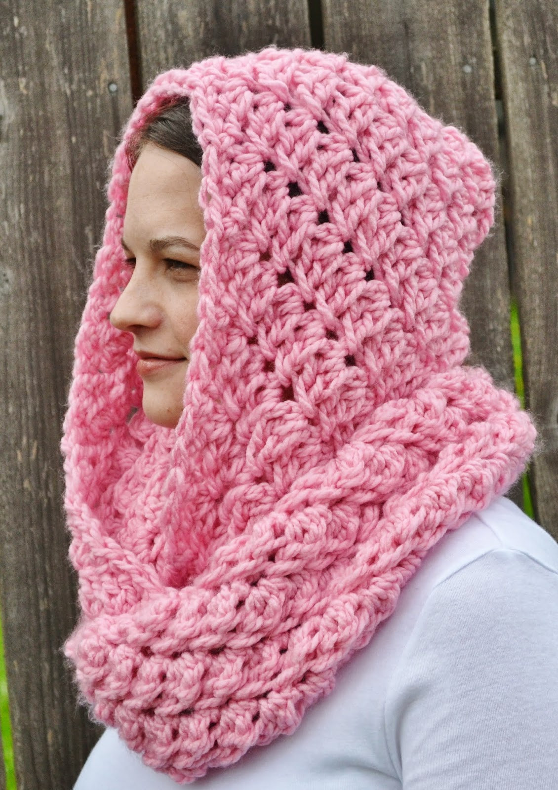 New Keep Yourself Cozy This Winter with these 22 Crocheted Crochet Hooded Scarf Of Wonderful 48 Images Crochet Hooded Scarf
