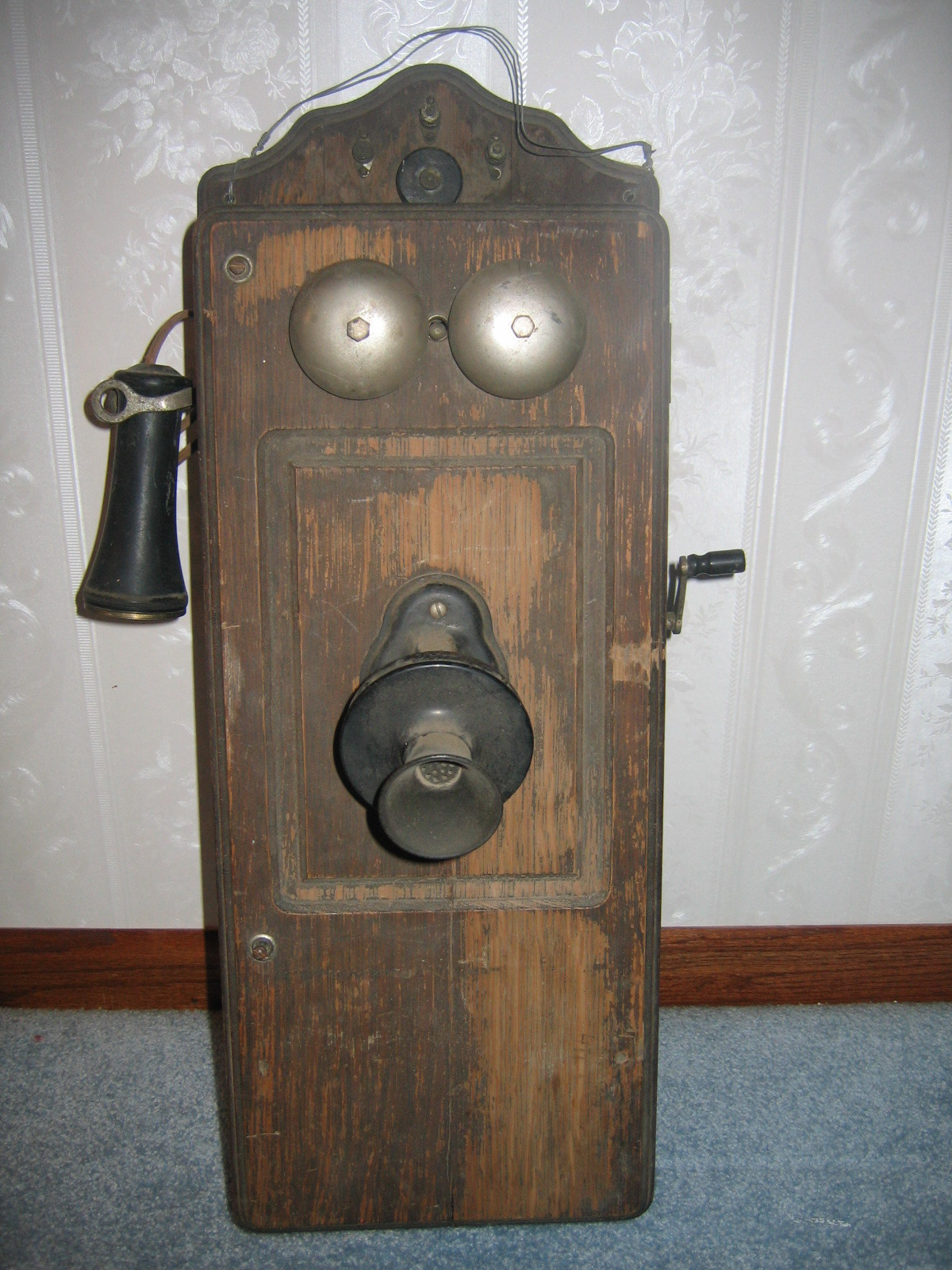 New Kellogg Crank Telephone Parts Related Keywords Kellogg Old Wooden Phone Of Adorable 43 Images Old Wooden Phone