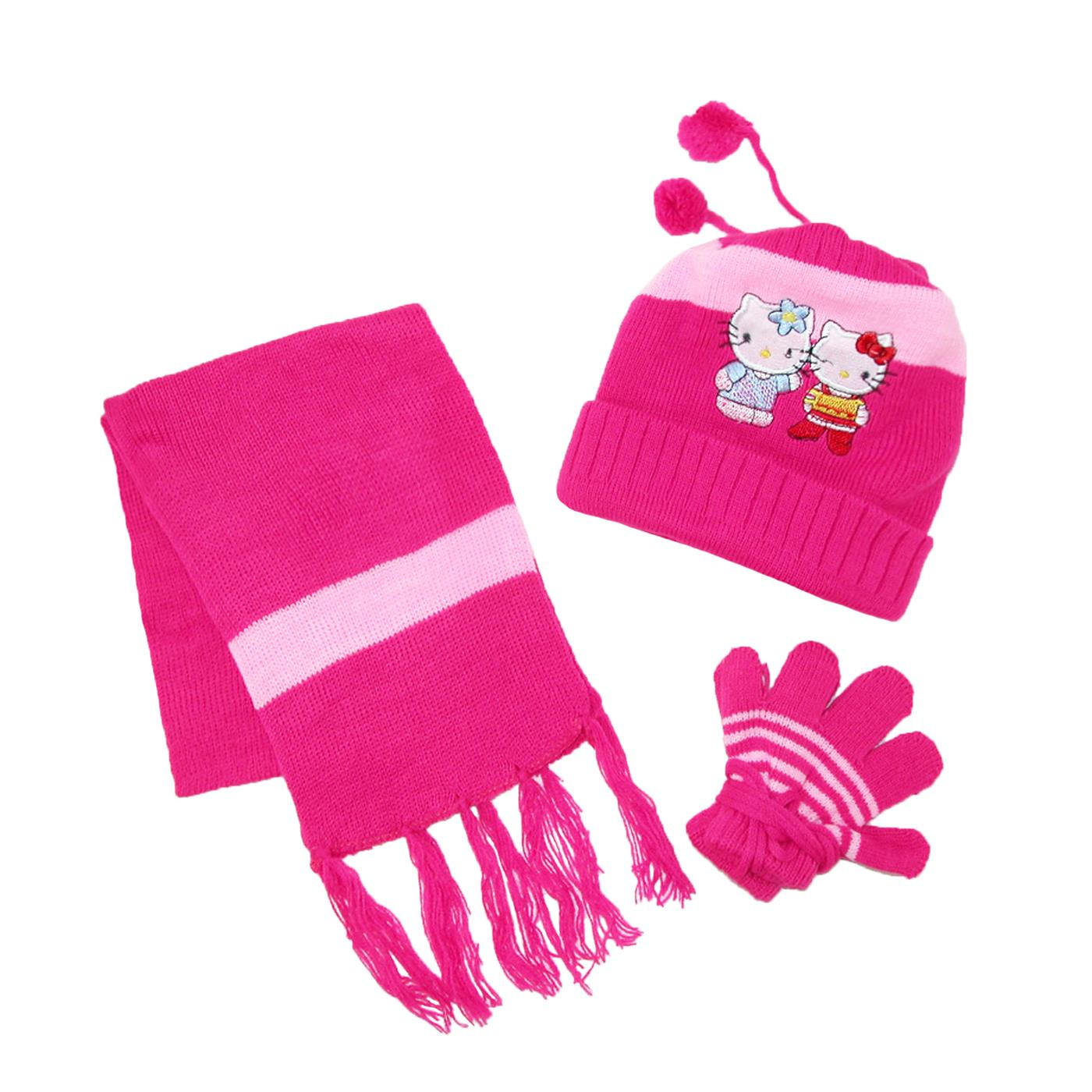 New Kids Hello Kitty Hat Scarf and Gloves A String Winter Children's Knitted Hats Of Fresh 47 Images Children's Knitted Hats