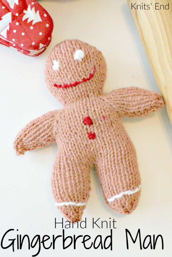 New Knit A Sweet and Simple Gingerbread Man – Knitting Knitting Crafts Of New 44 Models Knitting Crafts