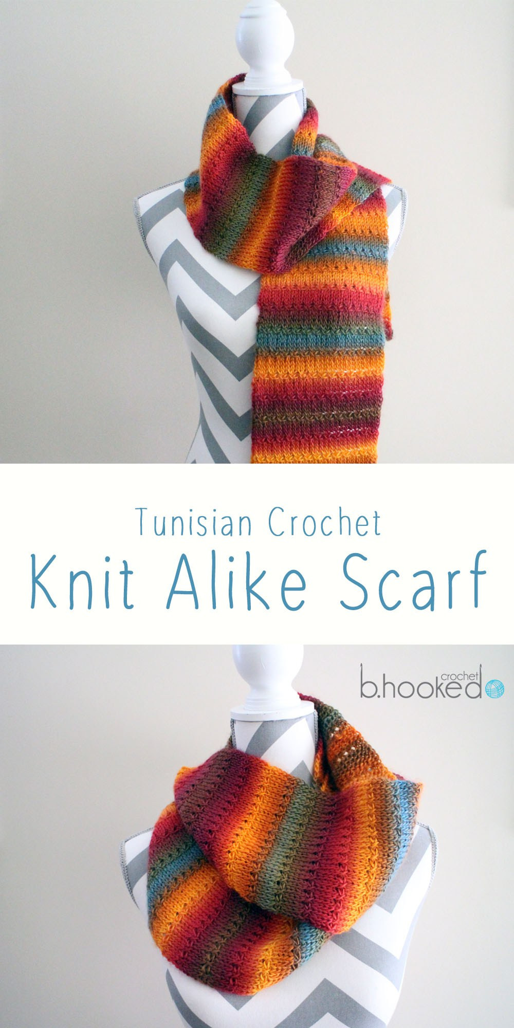 Knit Alike Tunisian Crochet Scarf Free Pattern