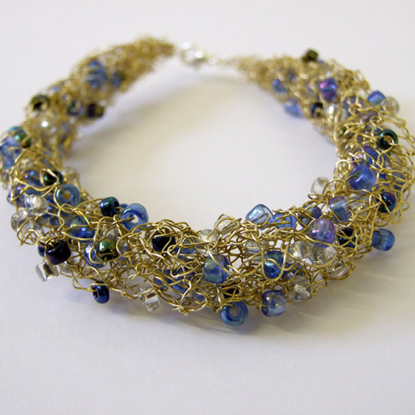 Knit it Now Stunning Wire Beaded Jewellery