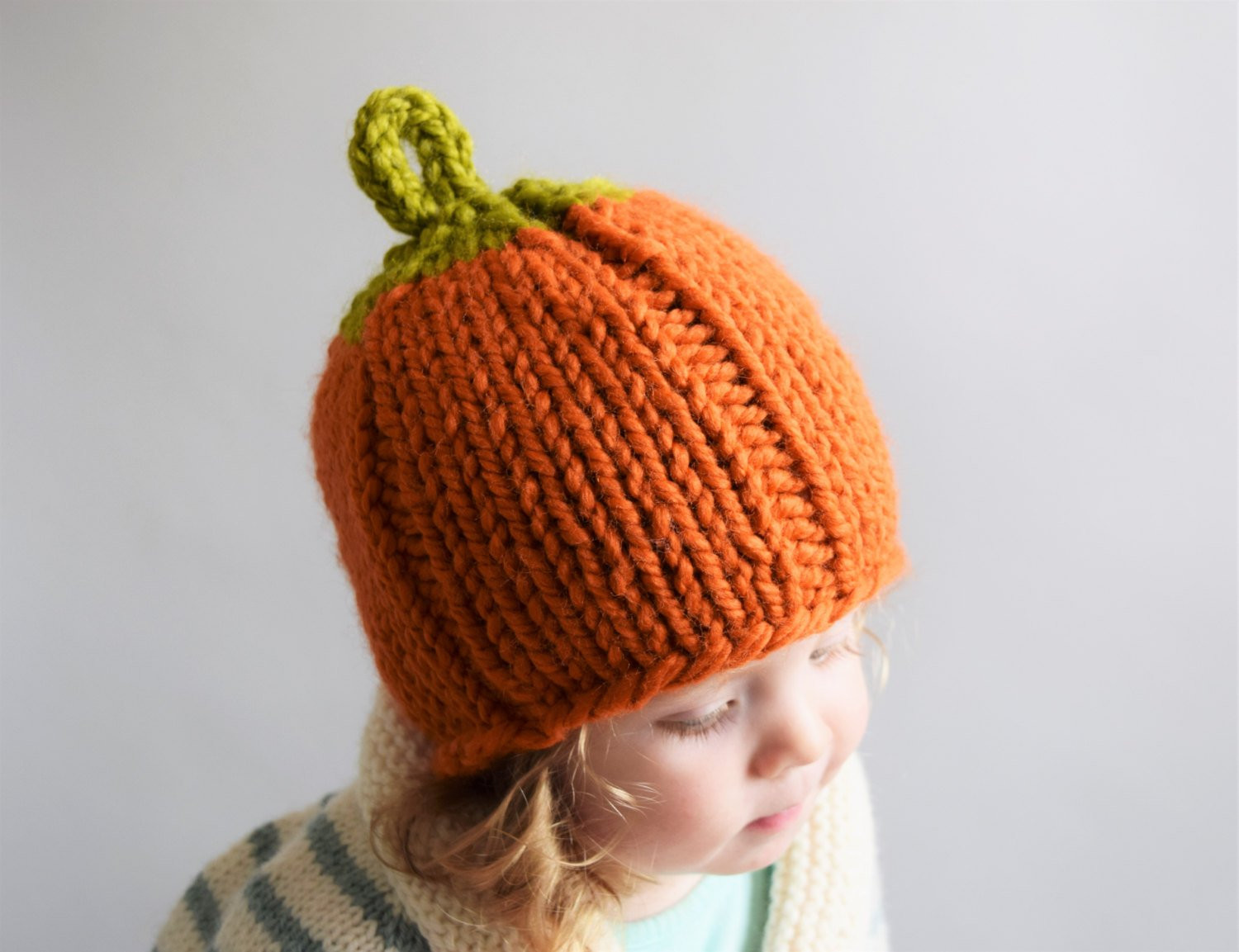 New Knit Pumpkin Hat Newborn Pumpkin Hat Baby by Knitted Pumpkin Hat Of Marvelous 40 Ideas Knitted Pumpkin Hat