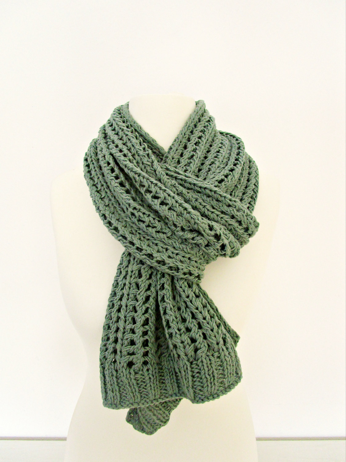New Knit Womens Scarf Lace Knit Scarf Green Knit Scarf Cotton Knit Lace Knit Scarf Of Delightful 46 Images Lace Knit Scarf