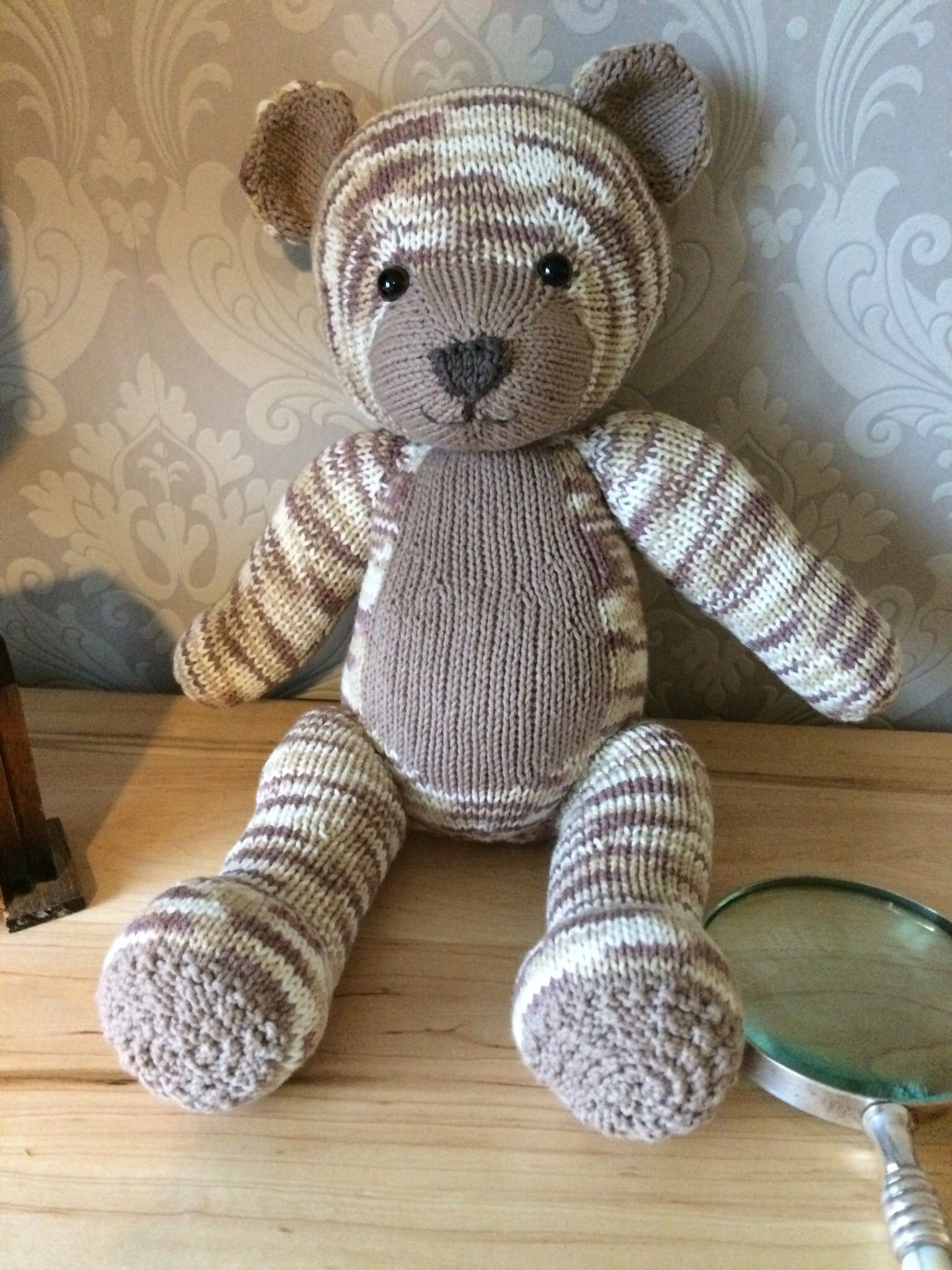 New Knitables Teddy Bear Knitting Project by Susy J Knitted Bear Pattern Of Brilliant 42 Photos Knitted Bear Pattern