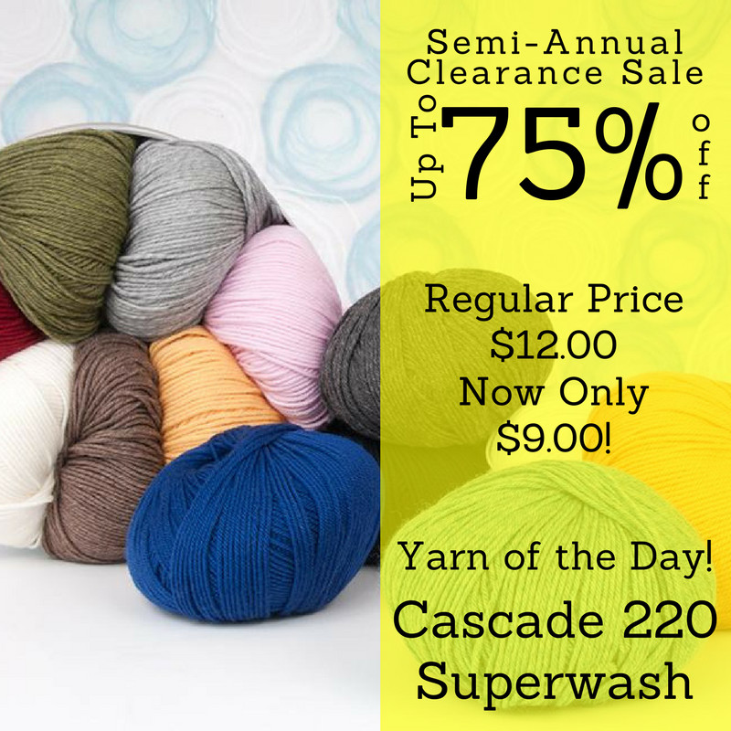 New Knitique Semi Annual Clearance Sale today S Featured Yarn Yarn Sale Clearance Of Gorgeous 50 Models Yarn Sale Clearance