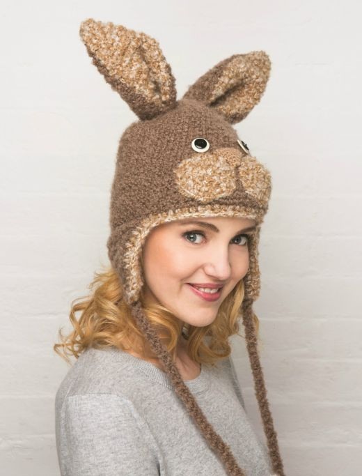 Knitted Bunny Hat Free Craft Project – Knitting and