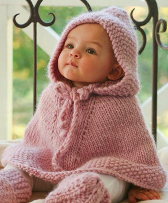 New Knitted Hooded Baby Poncho Pattern Free Baby Poncho Knitting Pattern Of Amazing 42 Pics Baby Poncho Knitting Pattern
