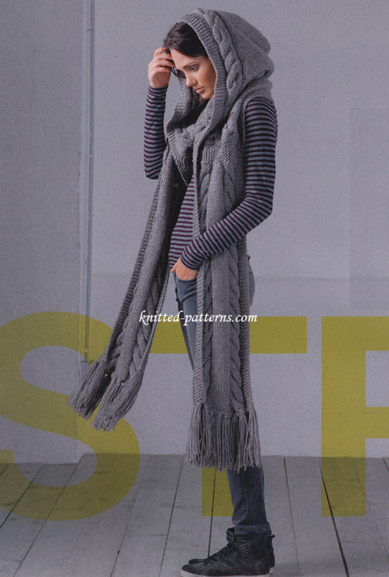 New Knitted Hooded Scarf Pattern All the Best Ideas Hooded Scarf Knitting Pattern Of Delightful 48 Pictures Hooded Scarf Knitting Pattern