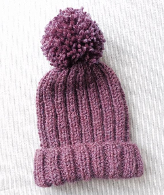 New Knitted Ribbed Bobble Hat Pattern Pom Pom Hat Knitting Ribbed Hat Of Amazing 42 Pictures Ribbed Hat