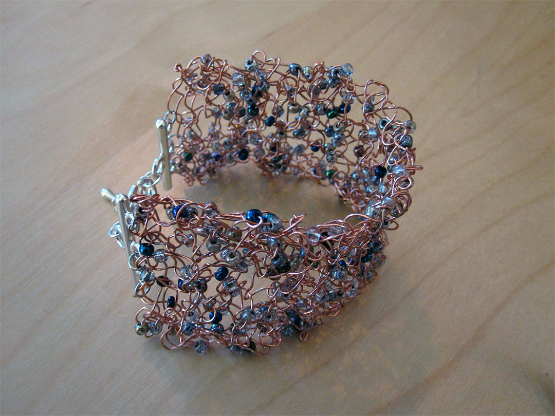 New Knitting Bracelets Julepstyle Knitted Bracelet Of Brilliant 50 Models Knitted Bracelet
