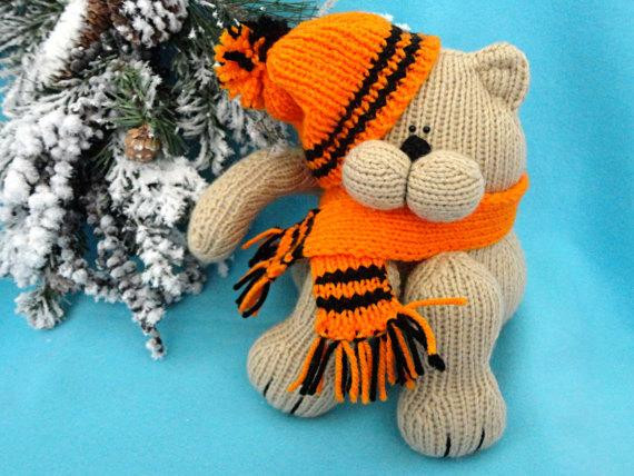 New Knitting Pattern Animal Knit Pattern Cat Animal Patterns Knitted Cat toys Of Fresh 44 Pics Knitted Cat toys