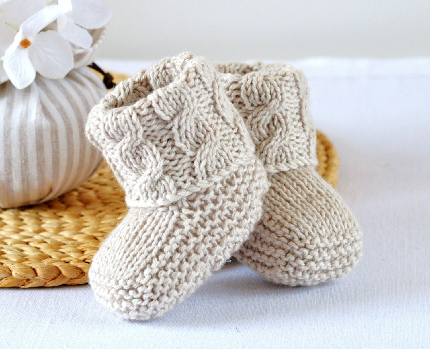 New Knitting Pattern Baby Booties Cable Aran Baby Shoes Quick and Baby socks Knitting Pattern Of Marvelous 40 Photos Baby socks Knitting Pattern