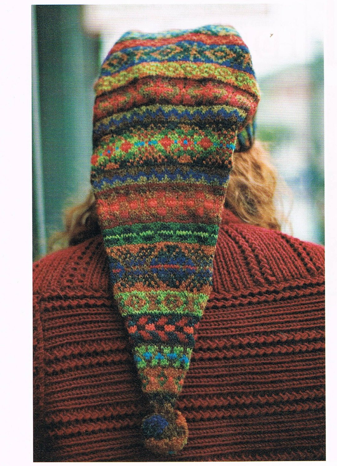 New Knitting Pattern for A Fair isle Sampler Stocking Hat Knit Stocking Cap Pattern Of Top 50 Photos Knit Stocking Cap Pattern