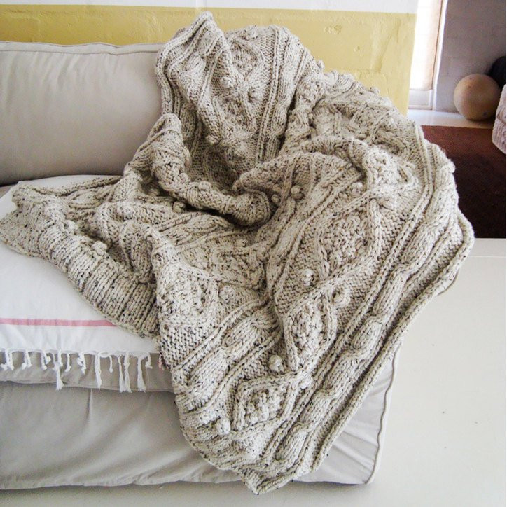 New Knitting Pattern for Chunky Cable Knit Throw Knitted Throw Pattern Of Awesome 45 Photos Knitted Throw Pattern