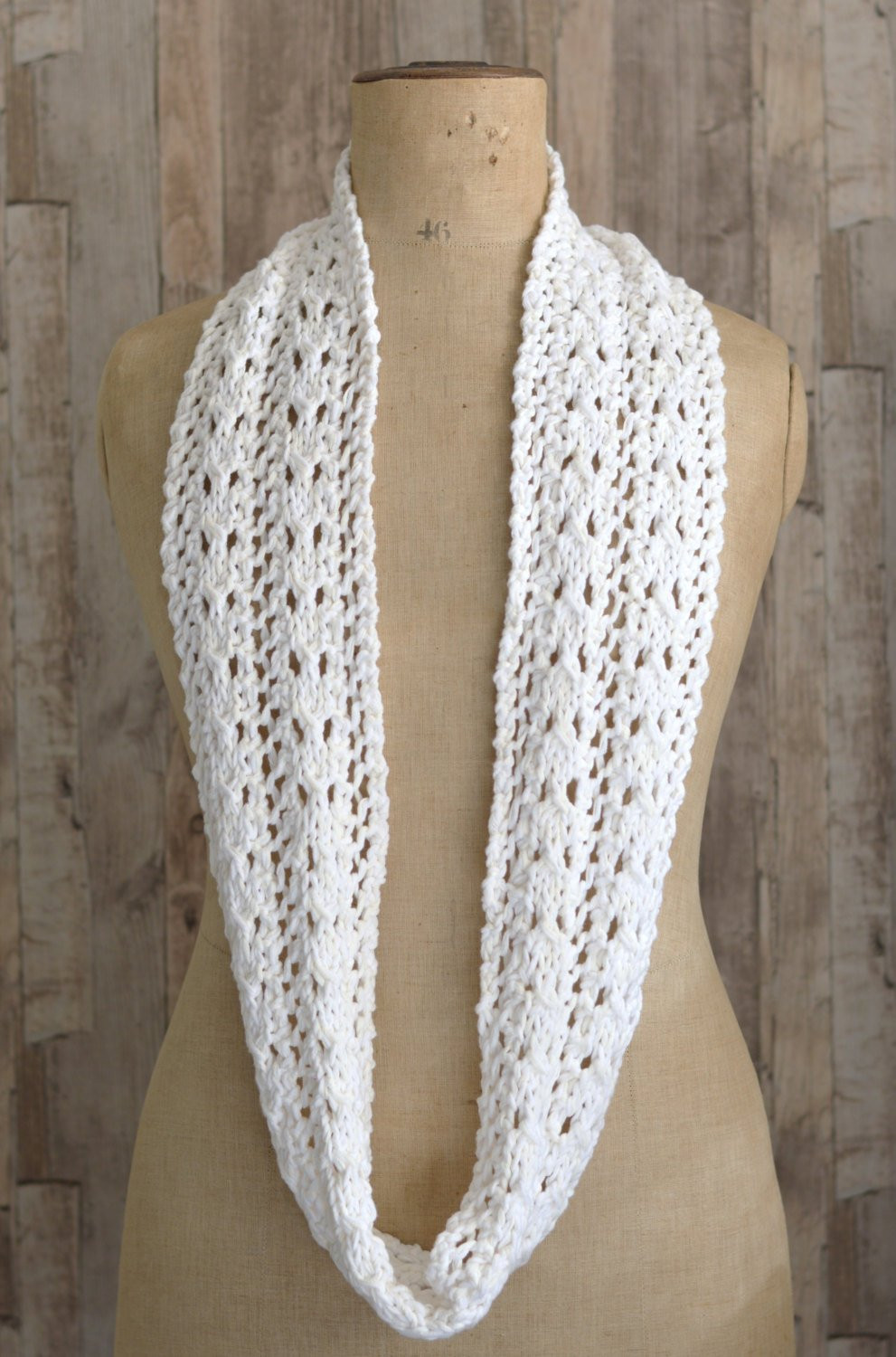 New Knitting Pattern Simple Lace Scarf Easy Knit Infinity Scarf Lace Scarf Pattern Of Innovative 44 Photos Lace Scarf Pattern