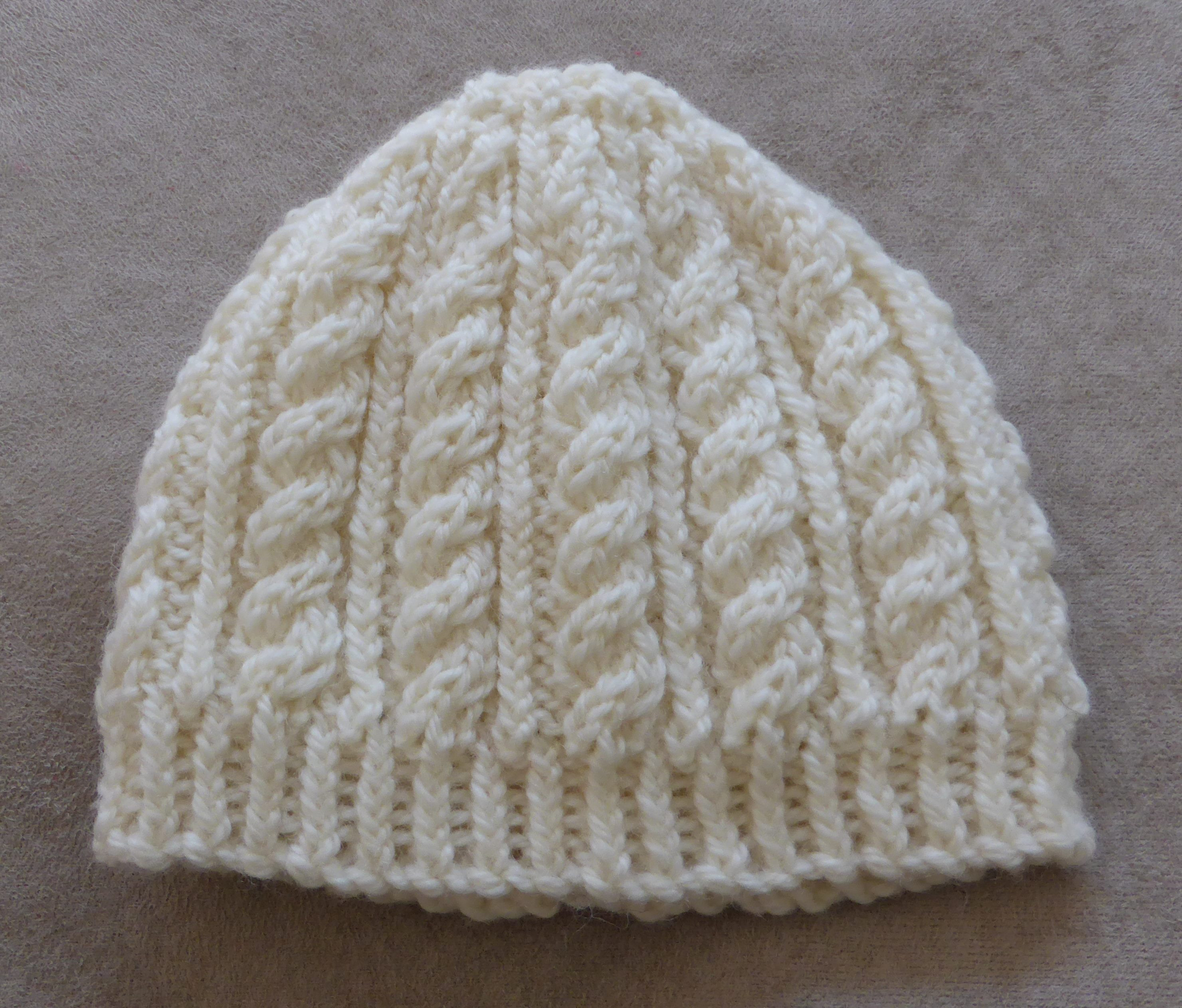 Knitting Patterns line Knitted Beanie Patterns For Babies