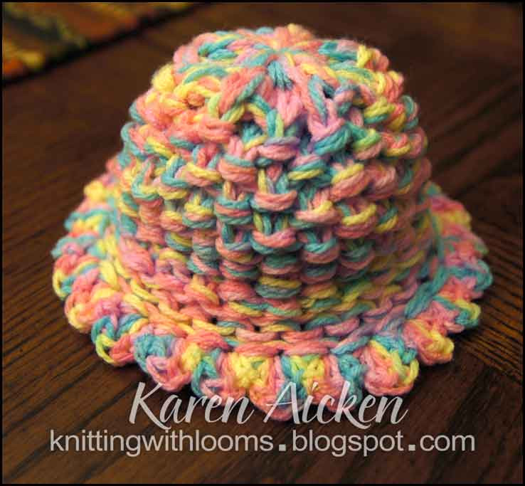 New Knitting with Looms Baby Girl Hat Making A Hat On A Loom Of Attractive 43 Pics Making A Hat On A Loom