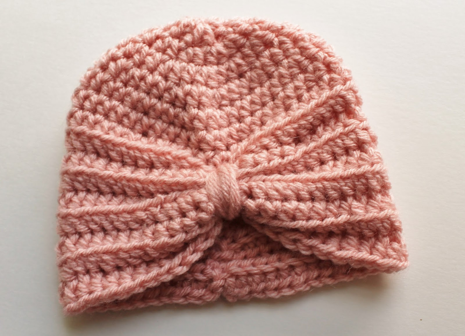kozy & co Crochet Baby Turban Pattern