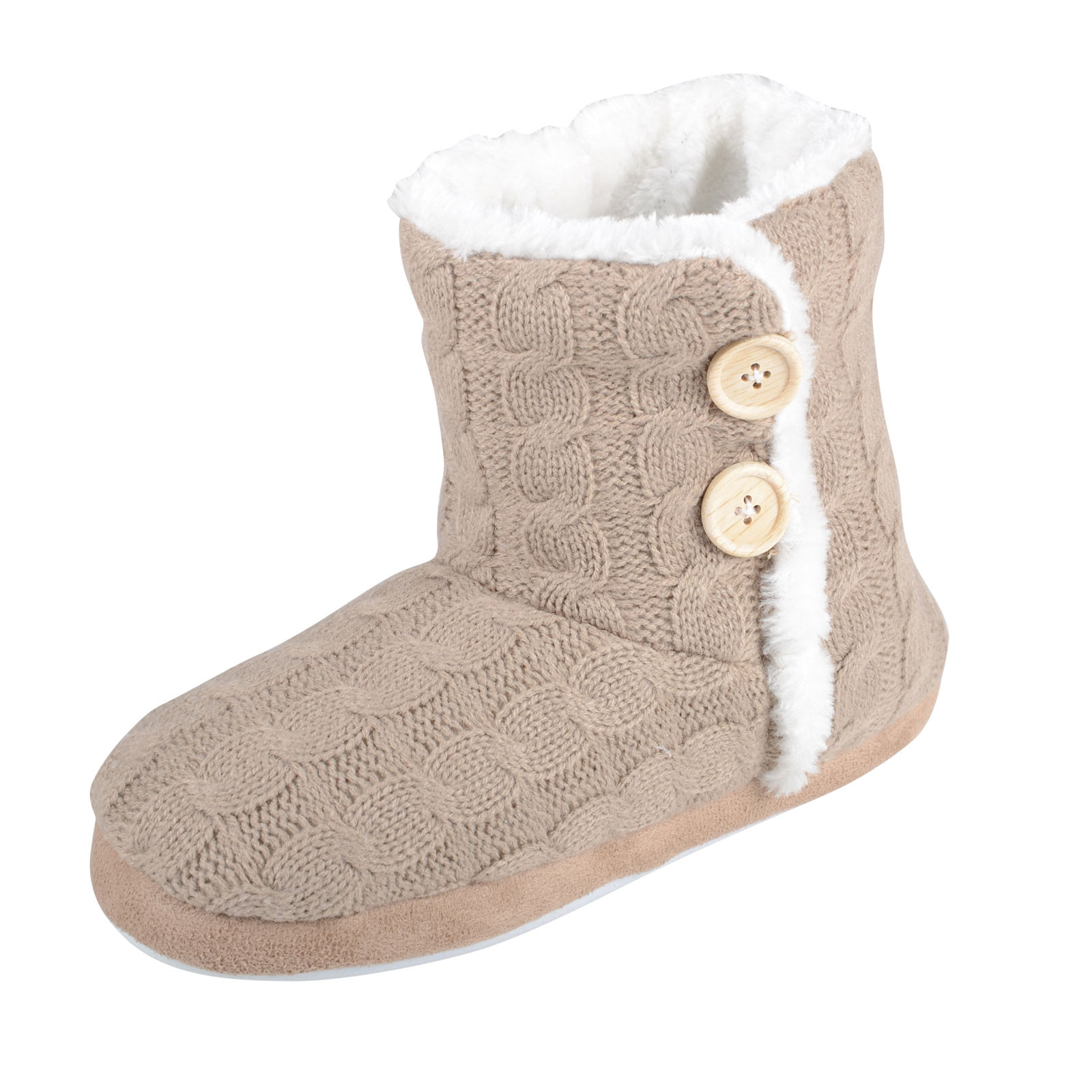 New La S Boot Slippers Cable Knit Booties with Non Slip Slipper soles for Knitting Of Superb 40 Images Slipper soles for Knitting
