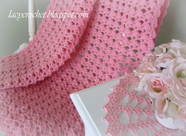 New Lacy Crochet Lovely Shells Baby Blanket Shell Stitch Baby Blanket Of Brilliant 49 Images Shell Stitch Baby Blanket