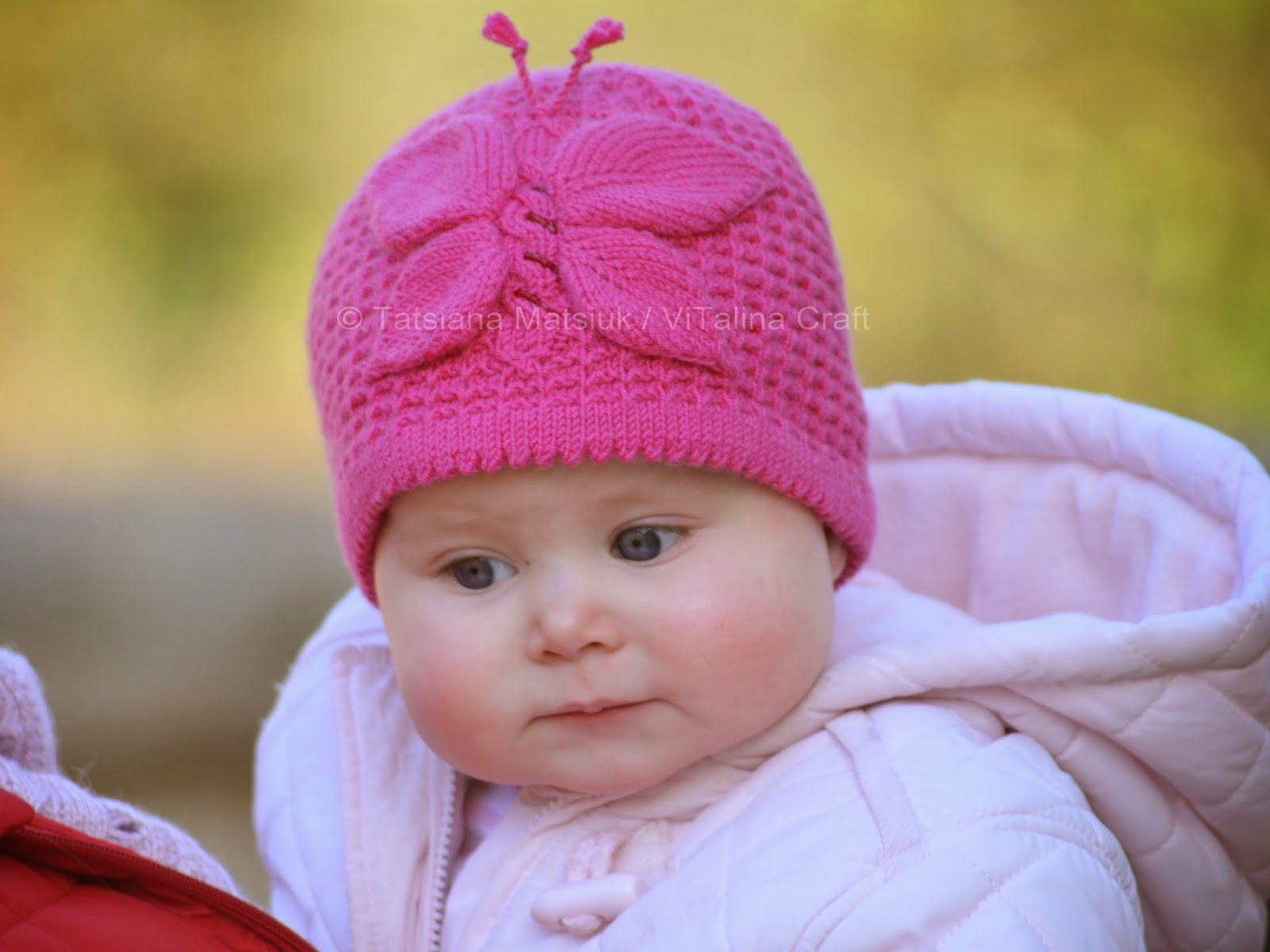 New Lady butterfly Baby Hat Knitting Pattern Knitted Baby Bonnet Of Top 47 Pics Knitted Baby Bonnet