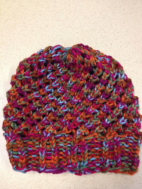 New Last Minute Slouchy Hat by isela Using Round Loom Pattern Circle Loom Knitting Of Superb 50 Images Circle Loom Knitting