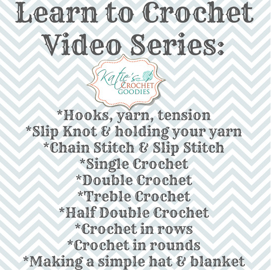 New Learn to Crochet Video Series Katie S Crochet Goo S Learn to Crochet Video Of Perfect 48 Ideas Learn to Crochet Video
