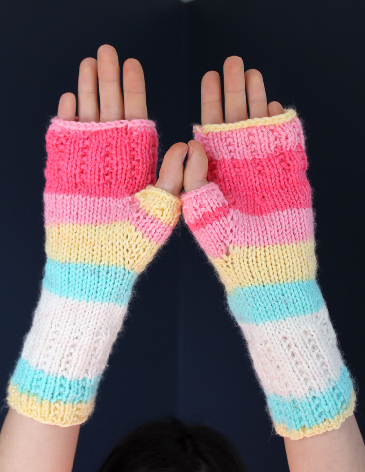 New Learn to Knit Happy Hands Fingerless Mitts Free Pattern Knitted Fingerless Mittens Of Luxury 48 Images Knitted Fingerless Mittens