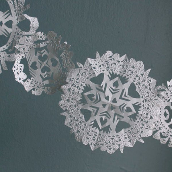 New Let It Snow Here S 10 Paper Snowflakes You Can Diy for Christmas Doilies Of Wonderful 44 Photos Christmas Doilies