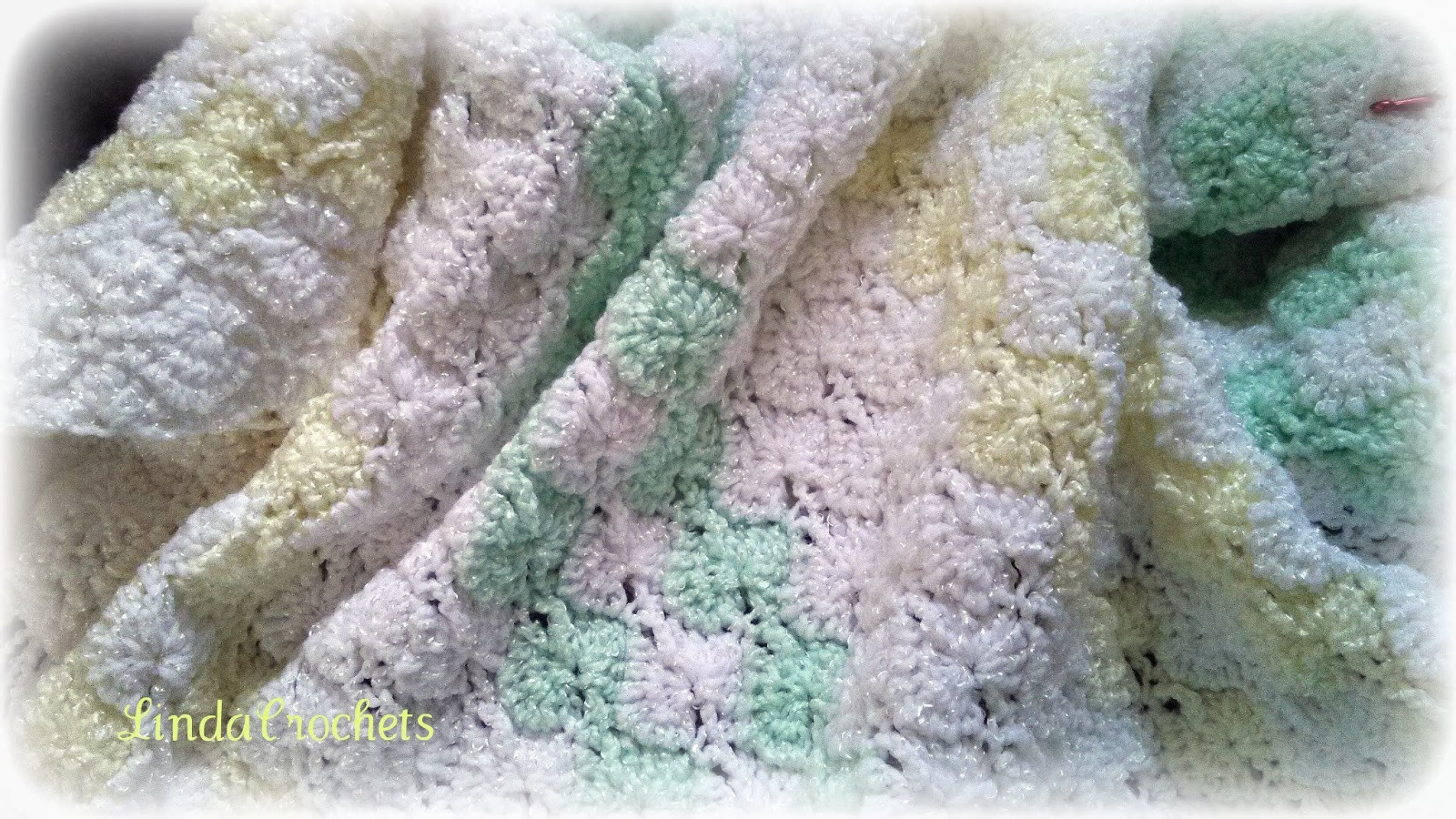 New Linda Crochets Double Shell Stitch Baby Blanket Shell Stitch Baby Blanket Of Brilliant 49 Images Shell Stitch Baby Blanket
