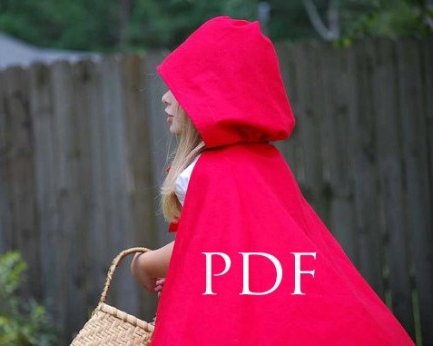 Little Lizard King Sewing Patterns Cape Tutorial