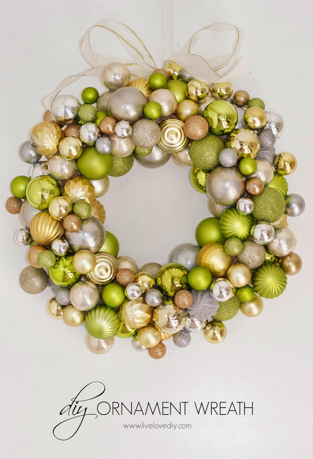 New Livelovediy How to Make A Christmas ornament Wreath Christmas Tree Balls Of Wonderful 50 Pictures Christmas Tree Balls