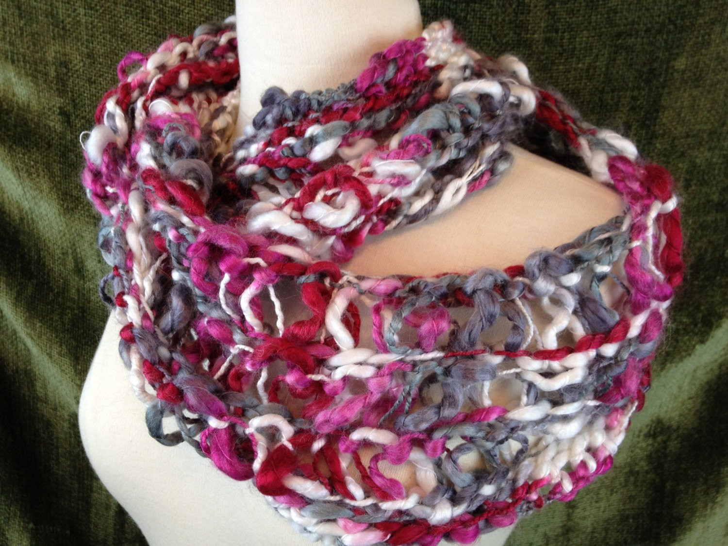New Loom Knit Infinity Scarf Pattern Scarf Loom Of Top 41 Pictures Scarf Loom