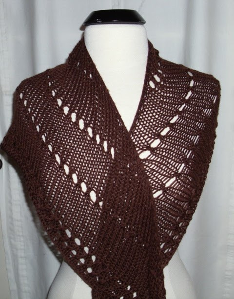 New Louise Knits An Easy Shawl Pattern Easy Knit Shawl Of Fresh 44 Photos Easy Knit Shawl