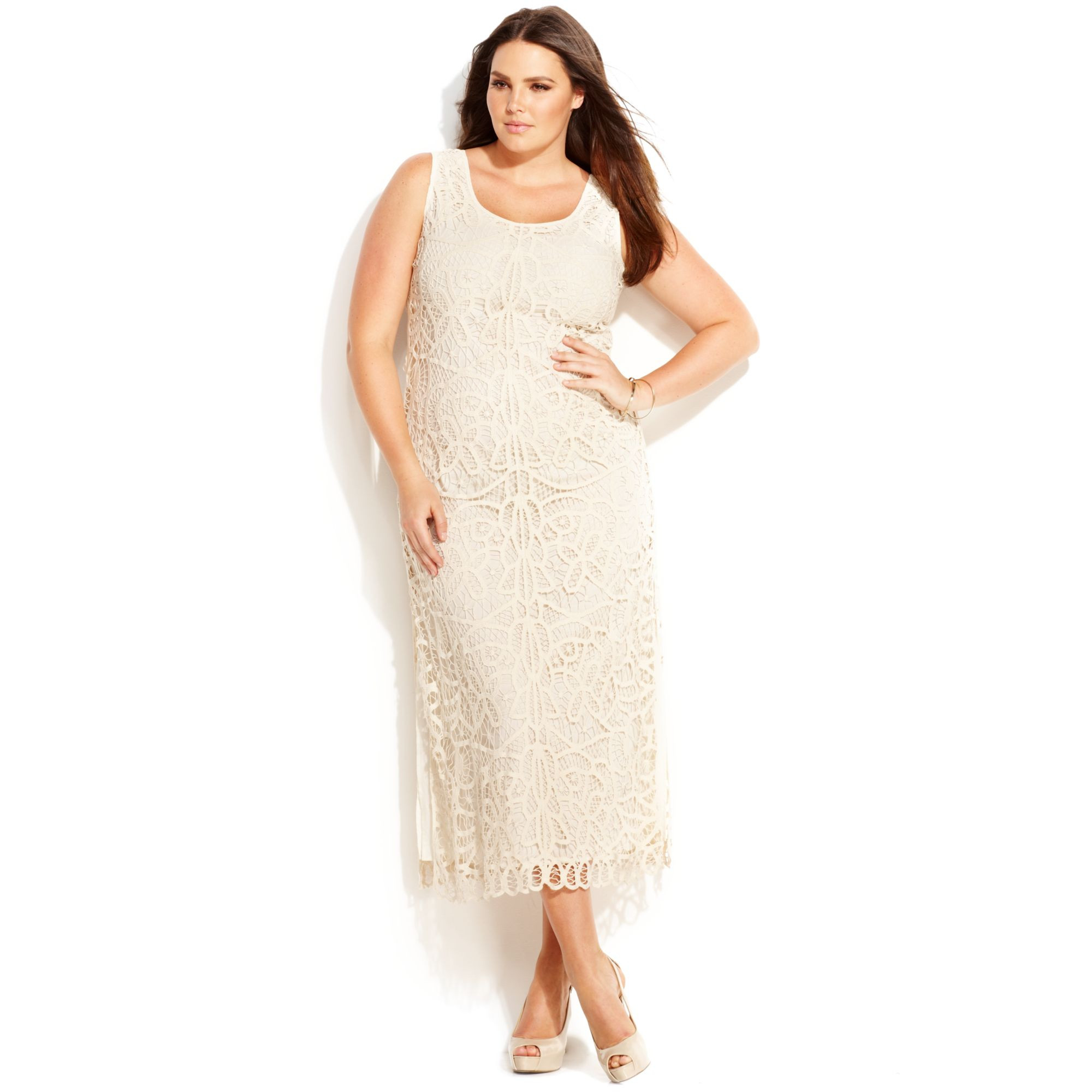 New Lyst Inc International Concepts Plus Size Sleeveless Plus Size Crochet Dress Of Attractive 46 Ideas Plus Size Crochet Dress