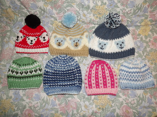 New March 2019 Donated Knitted Baby & toddler Hats Knitted Baby Beanies Of Charming 44 Models Knitted Baby Beanies