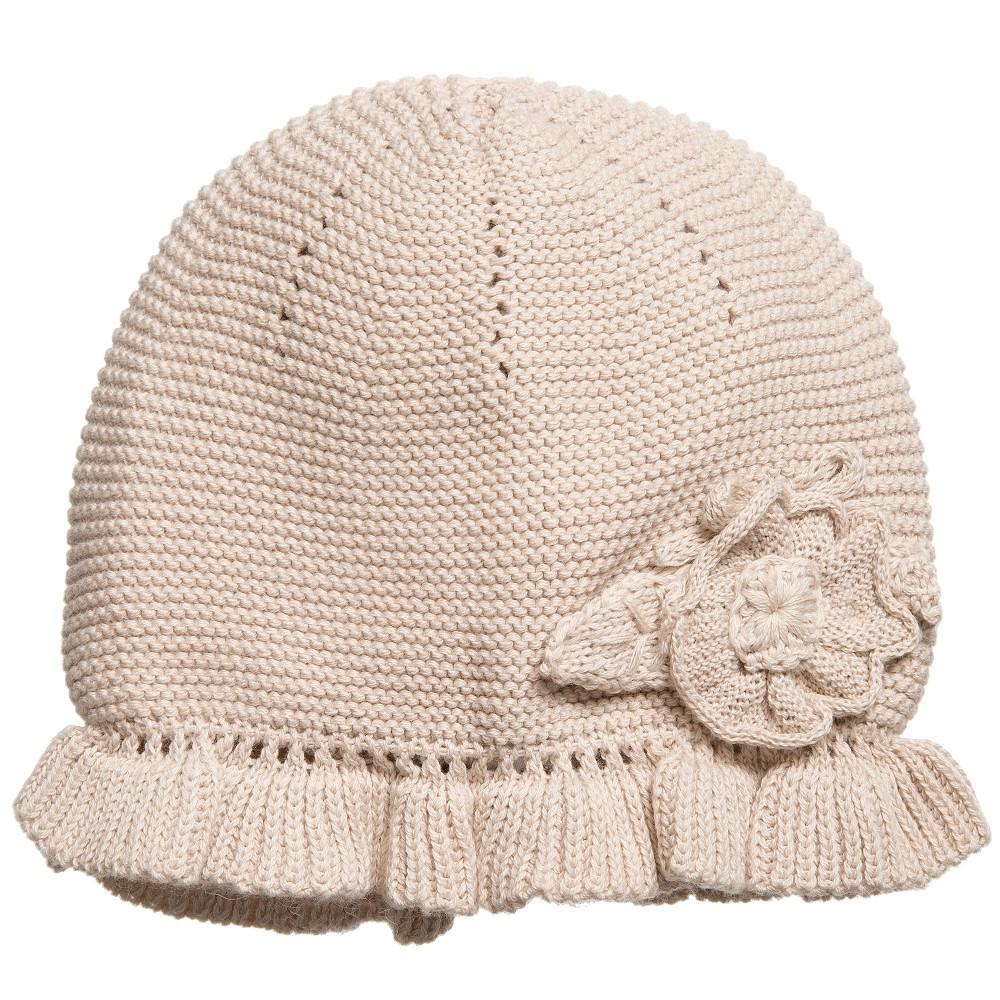 New Mayoral Newborn Baby Girls Beige Cotton Knitted Hat Girls Knit Hats Of Delightful 44 Pics Girls Knit Hats