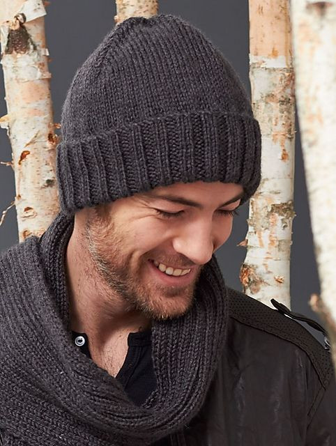 New Men S Basic Hat and Scarf Set Mens Beanie Knitting Pattern Of New 42 Models Mens Beanie Knitting Pattern