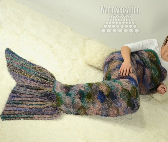 New Mermaid Tail Blanket Knit Design Squama Child by Warmsensation Mermaid Blanket Child Of Contemporary 49 Ideas Mermaid Blanket Child