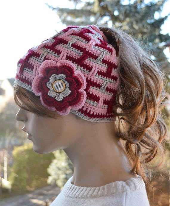 New Messy Bun Hatcap Beanie Crocheted Ponytail Hole Hat Lovely Beanie with Hole for Bun Of Great 40 Pics Beanie with Hole for Bun