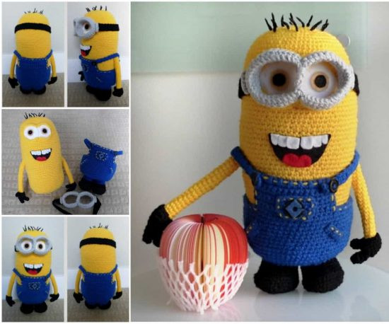 New Minion Free Crochet Pattern Collection All the Best Ideas Minion Crochet Pattern Of Lovely 46 Images Minion Crochet Pattern