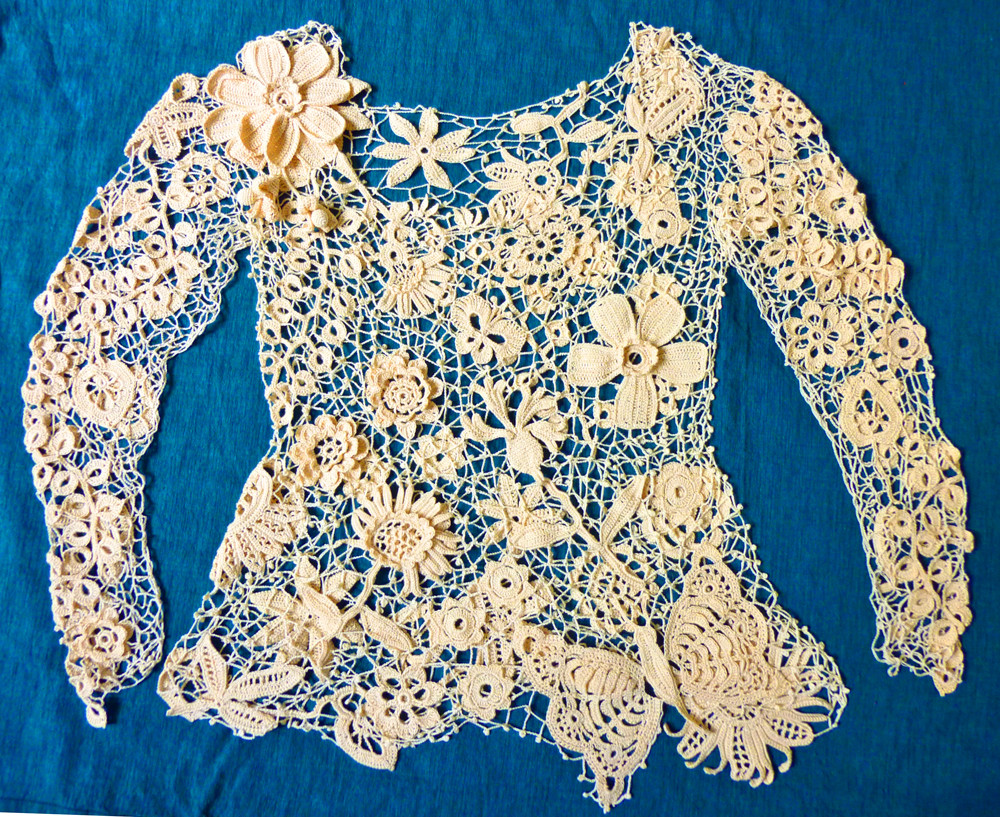 New Mirtooli Crochet Irish Lace top for Sarah S Wedding Crochet Lace top Pattern Of Incredible 45 Models Crochet Lace top Pattern